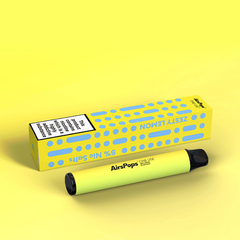 AIRSCREAM AirsPops One-Use (Disposable) Zesty Lemon 800puff