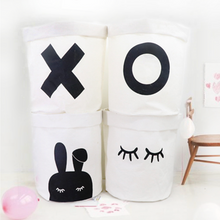 Copy of Copy of Foldable Canvas Storage Baskets - Sleeping Bunny