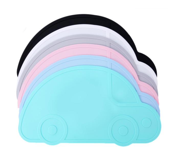 Kids Silicone Placemat - Car