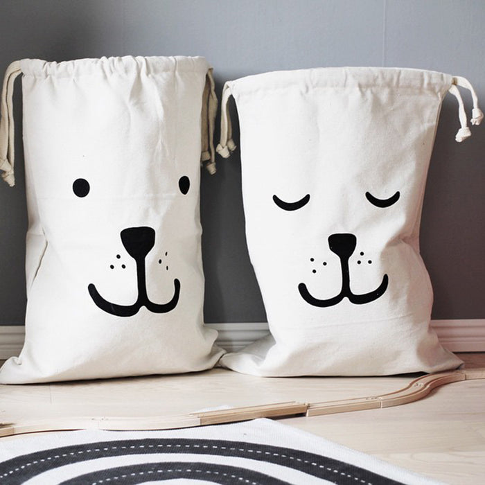 Large Canvas Storage Bags