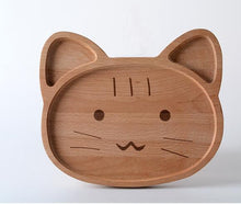 Cute Eco-Friendly Wooden Plates