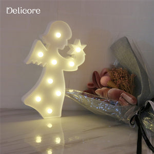 Bed Side or Wall Lamp - Angel