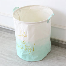 Canvas Basket for Storage and Laundry