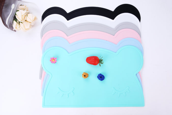 Cute Silicone Placemats - Bear