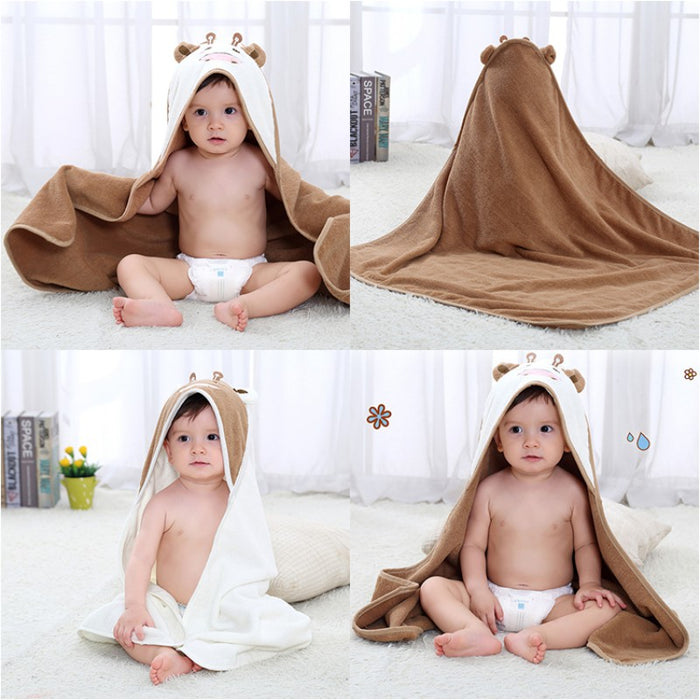 Hooded Towel - Cow