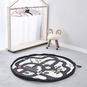 Multi Functional Large 140CM Children's Play Mat and Toys Storage Bag