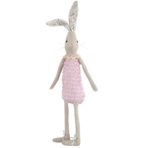 Stuffed Animal - Pink Rabbit Doll