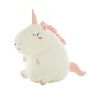 Plush Stuffed Animal - Chubby Unicorn