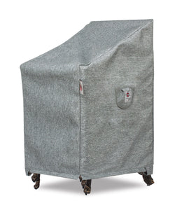 "Chair Cover Small - 25.5""W x 28""D x 29''/42""H Platinum"