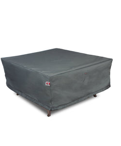 "Fire Table Cover Square - 44"" W x 44"" D x 25"" H Titanium"