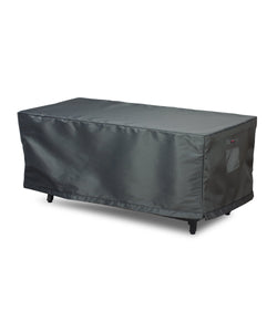 "Fire Table Cover Rectangle - 53""W x 33""D x 25""H Titanium"