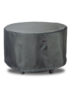 "Fire Table Cover Round - 53""Dia x 25""H Titanium"