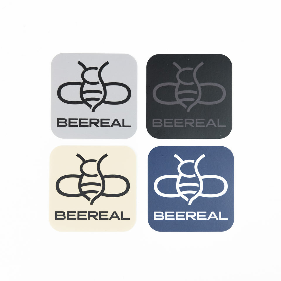 BEEREAL Sticker Kit