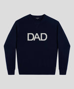 Cashmere Sweatshirt DAD - navy