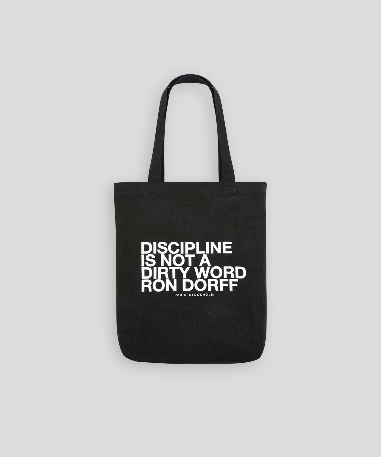 Tote Bag DISCIPLINE - black