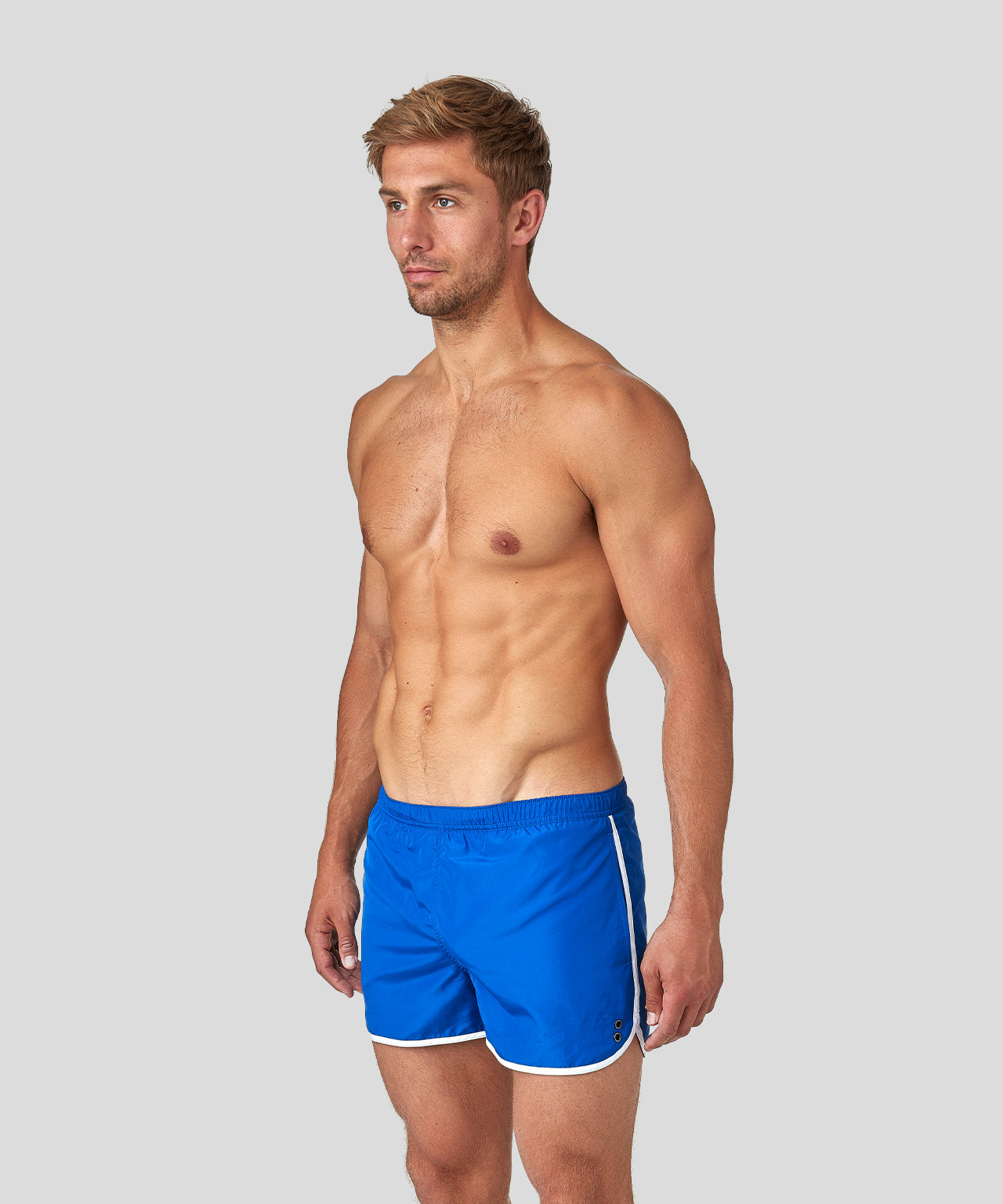 Marathon Swim Shorts - klein blue/white