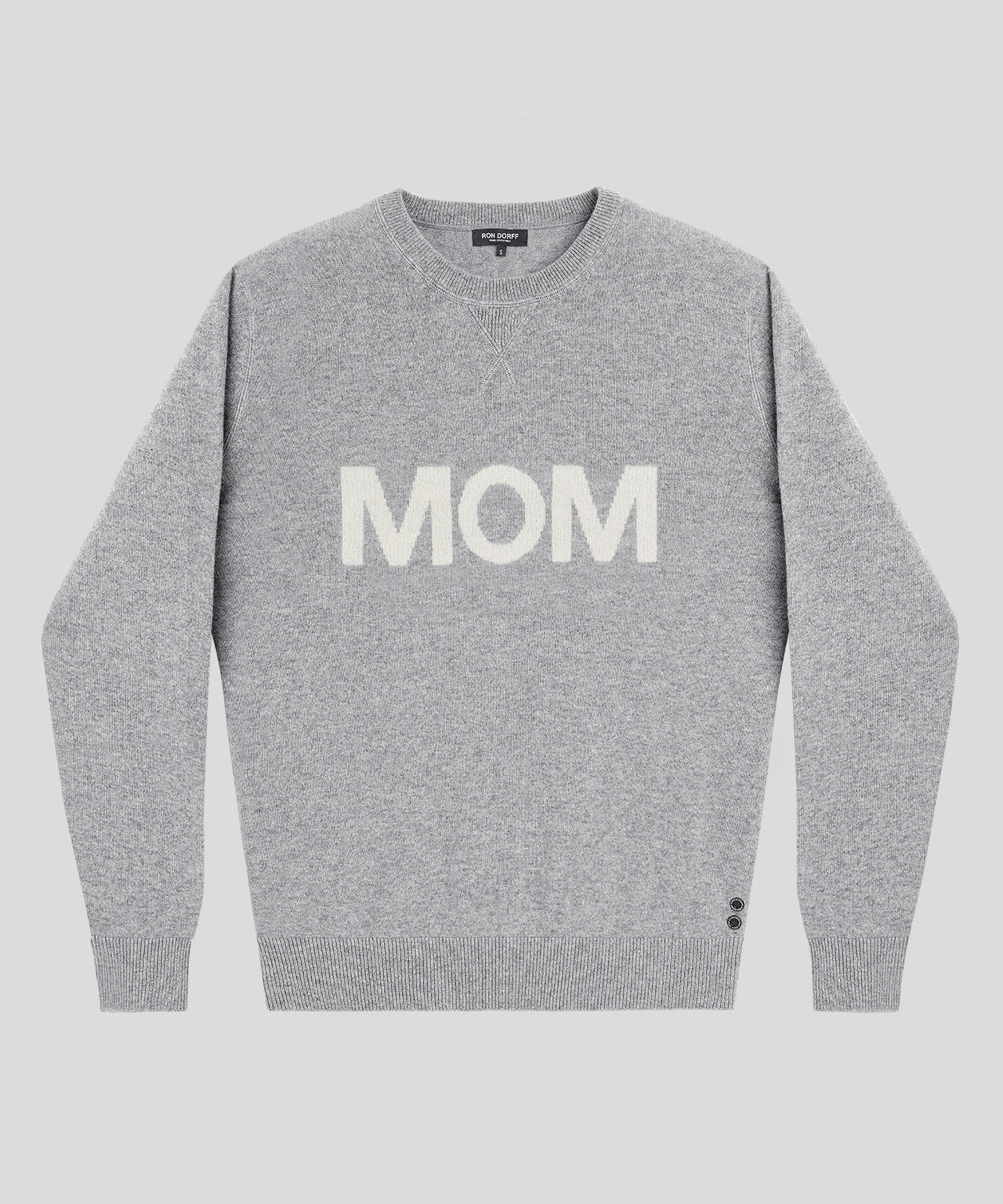Cashmere MOM - grey melange