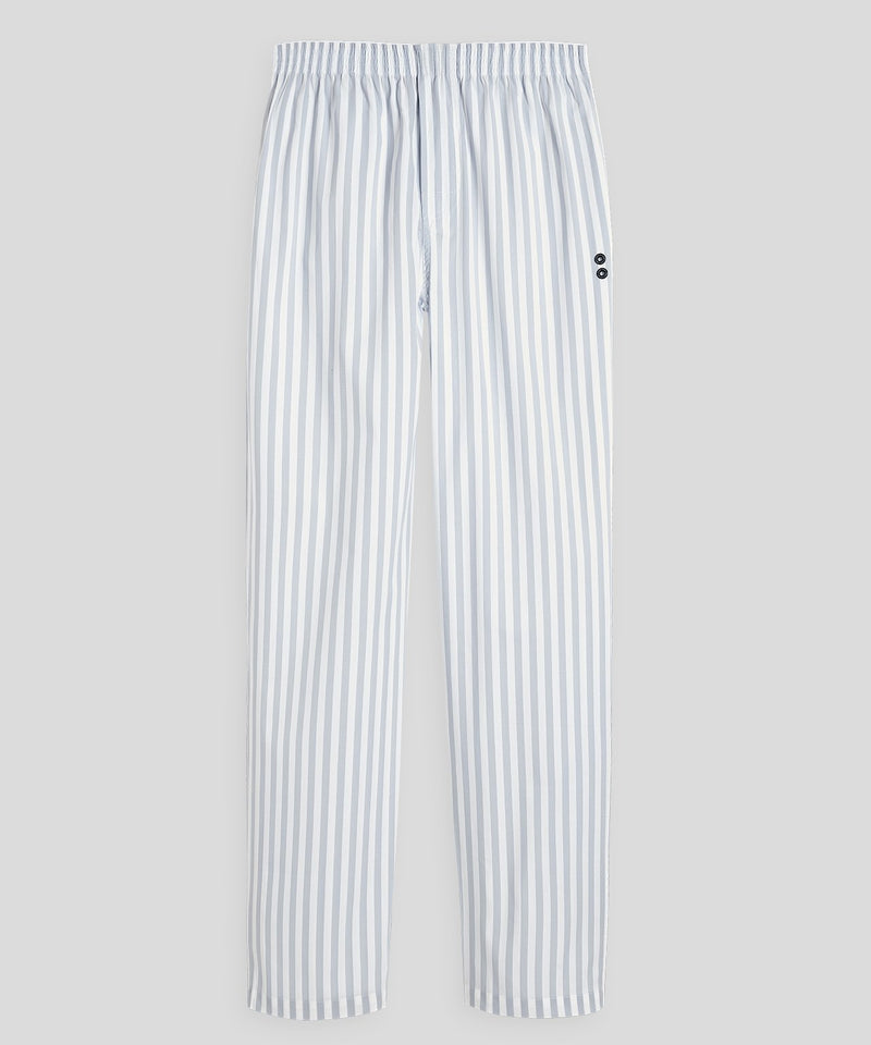 Pyjama Pants - arctic blue/white
