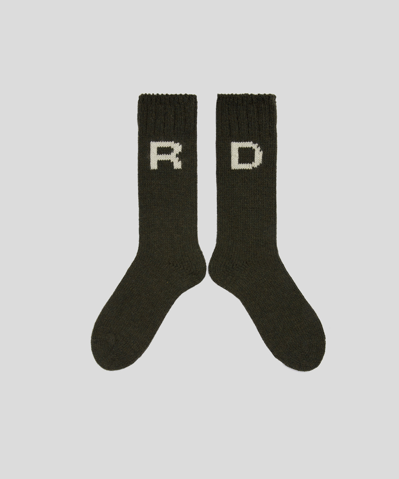 Wool Socks RD - khaki