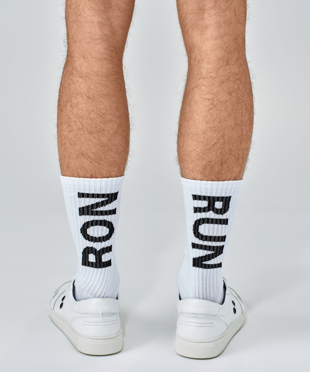 Sports Socks RON RUN - white