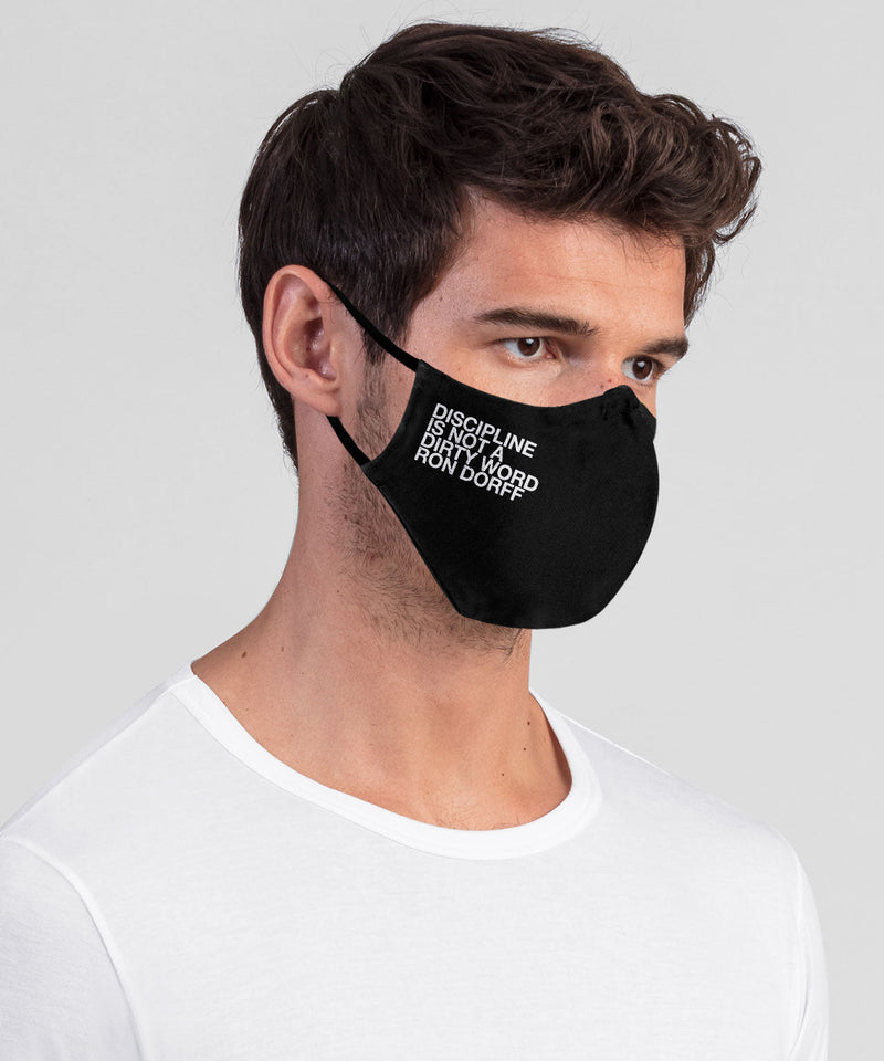 DISCIPLINE Face Mask - black