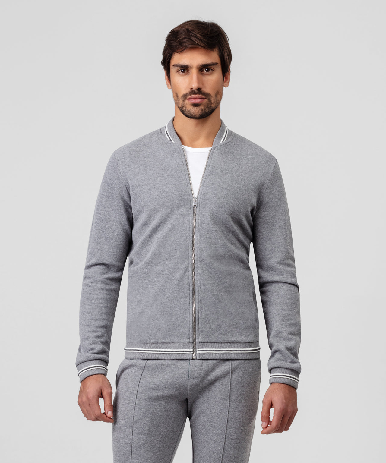 Urban Teddy Jacket - grey melange