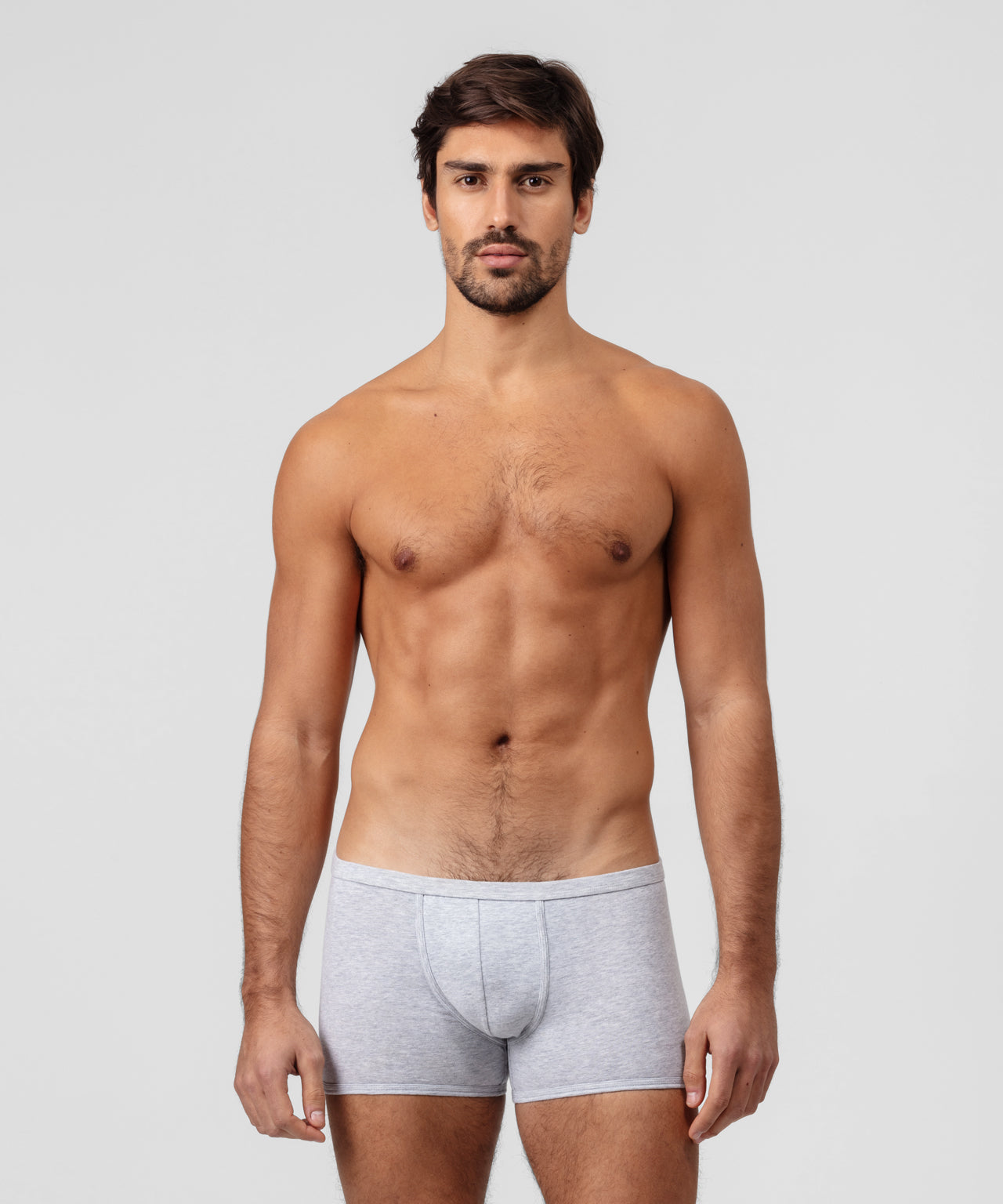 Boxer Briefs Weekend Kit - grey melange