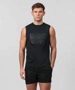 Sleeveless T-Shirt RON DORFF - black
