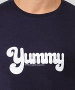 T-Shirt YUMMY - navy