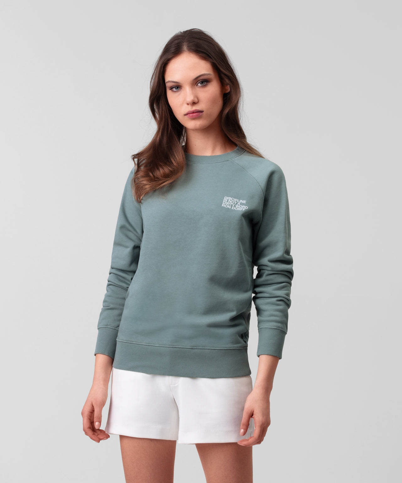 Sweatshirt DISCIPLINE Small Print His For Her - stormy sea