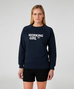 Sweatshirt WORKING GIRL - navy