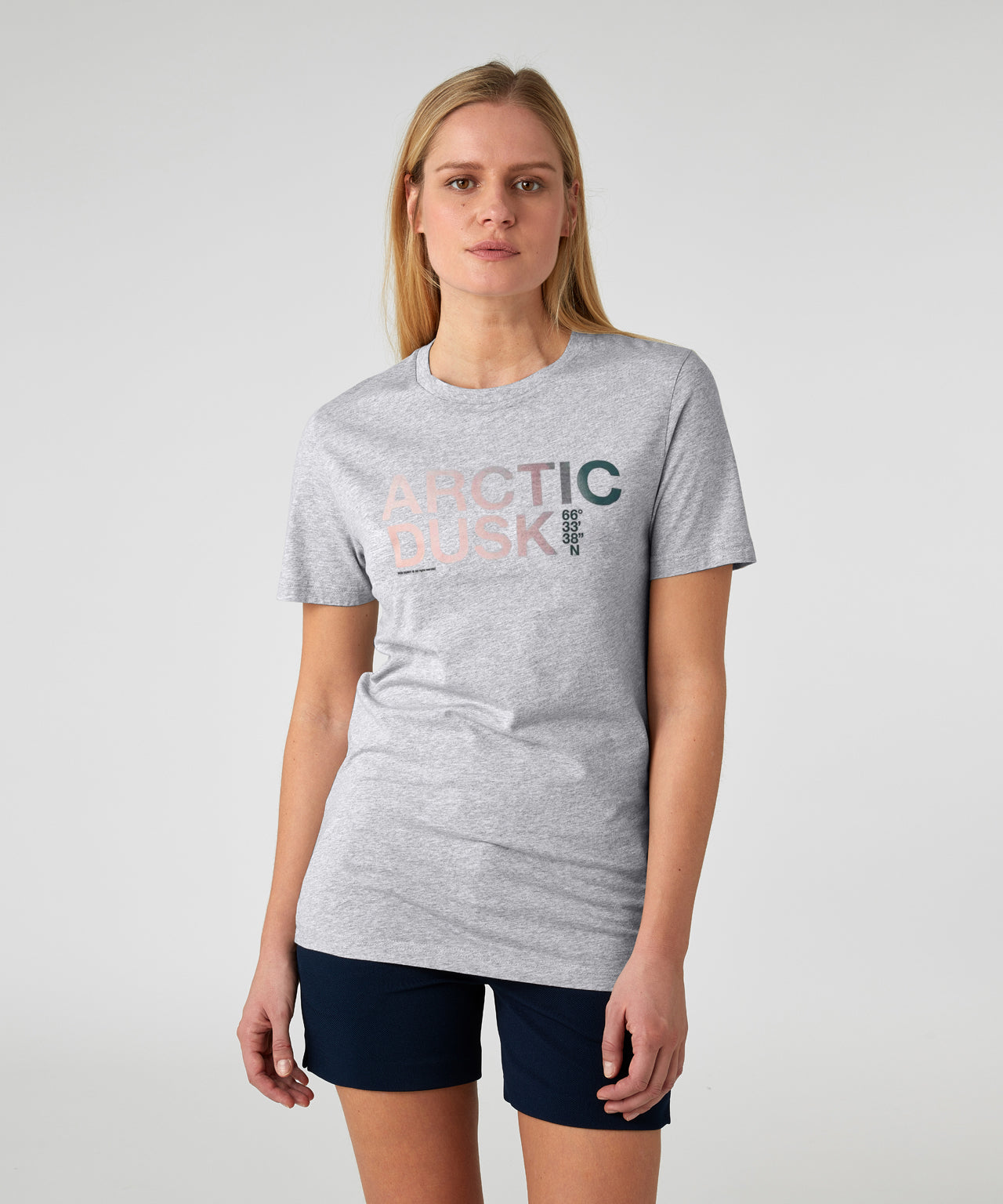 T-Shirt PLAY A His For Her - grey melange