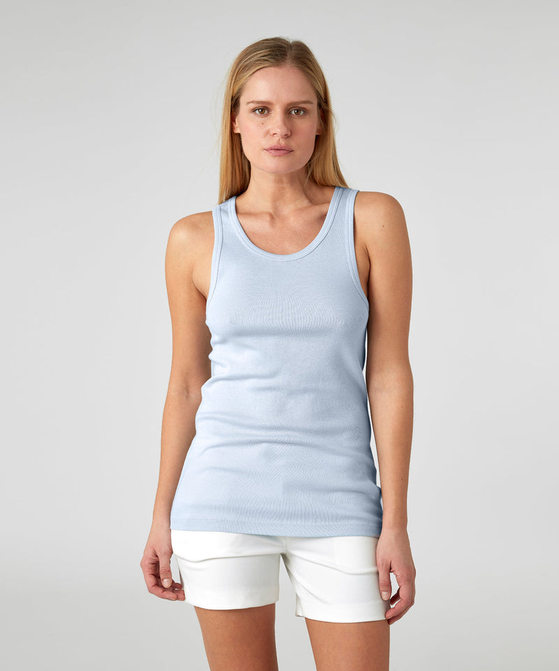 Underwear Tank Top His For Her - arctic blue