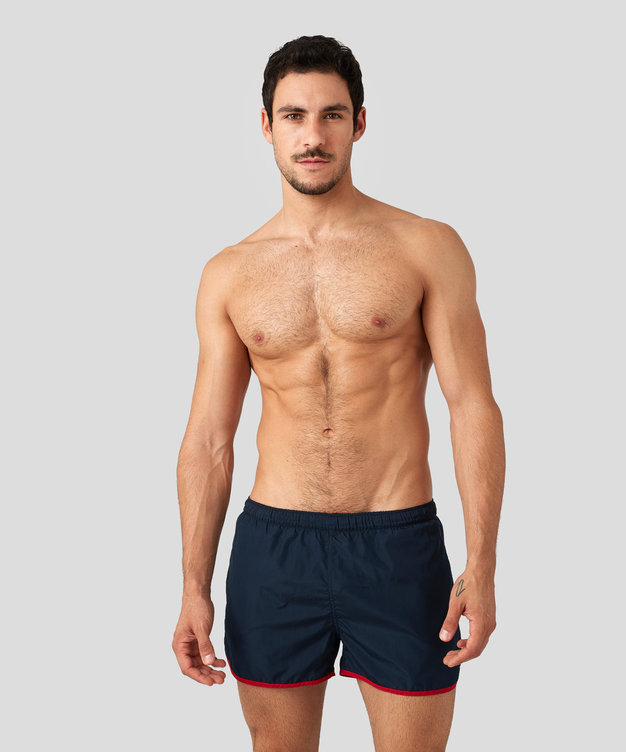 Marathon Swim Shorts - navy/red