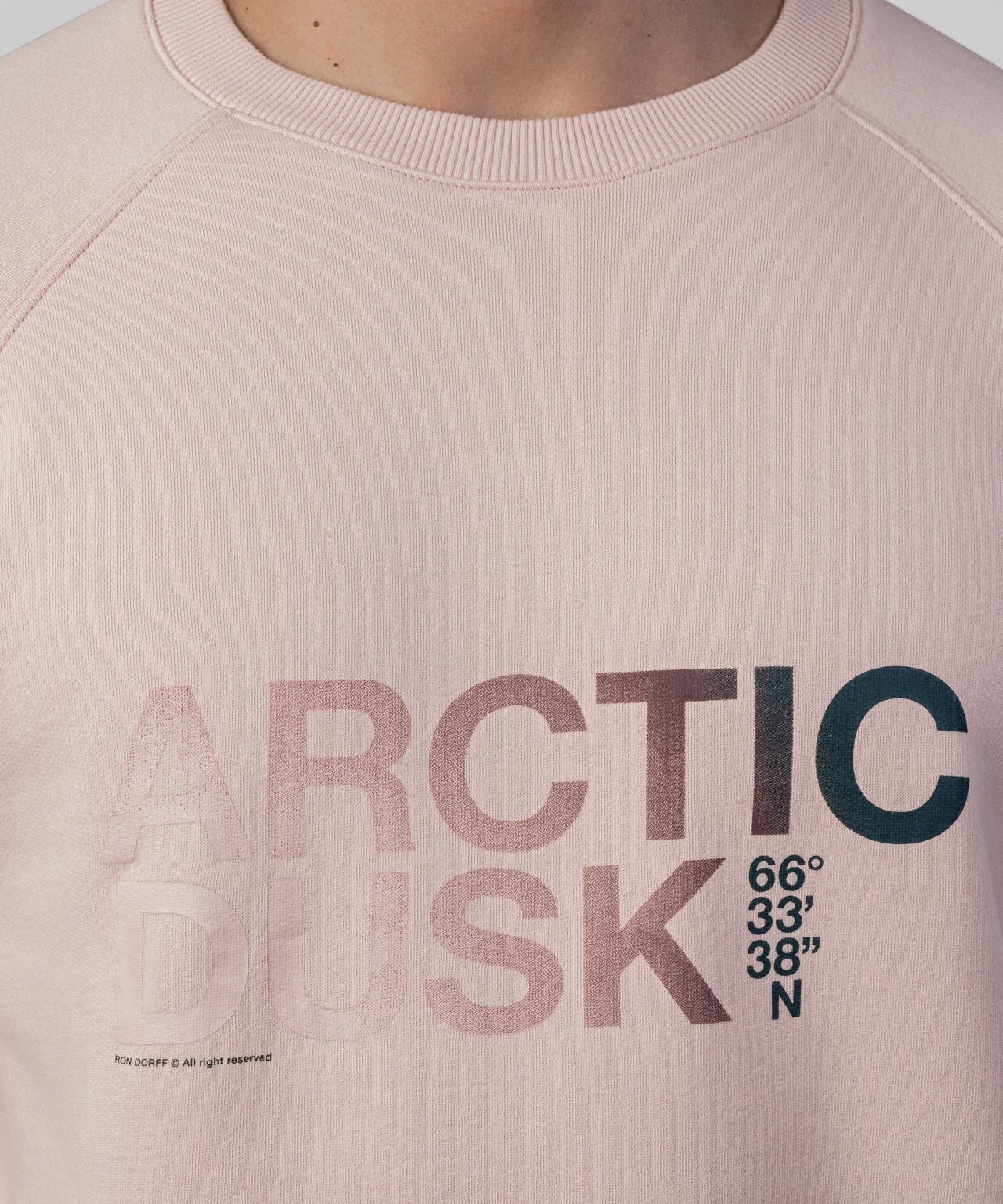 Sweatshirt ARCTIC DUSK - dusty pink