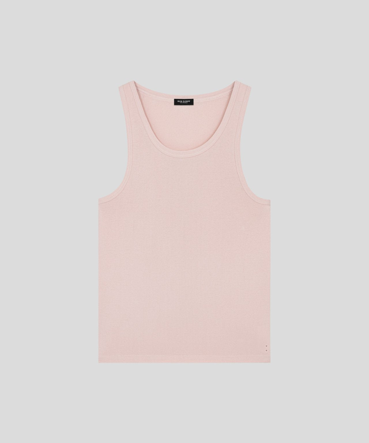 Ribbed Tank Top - pink