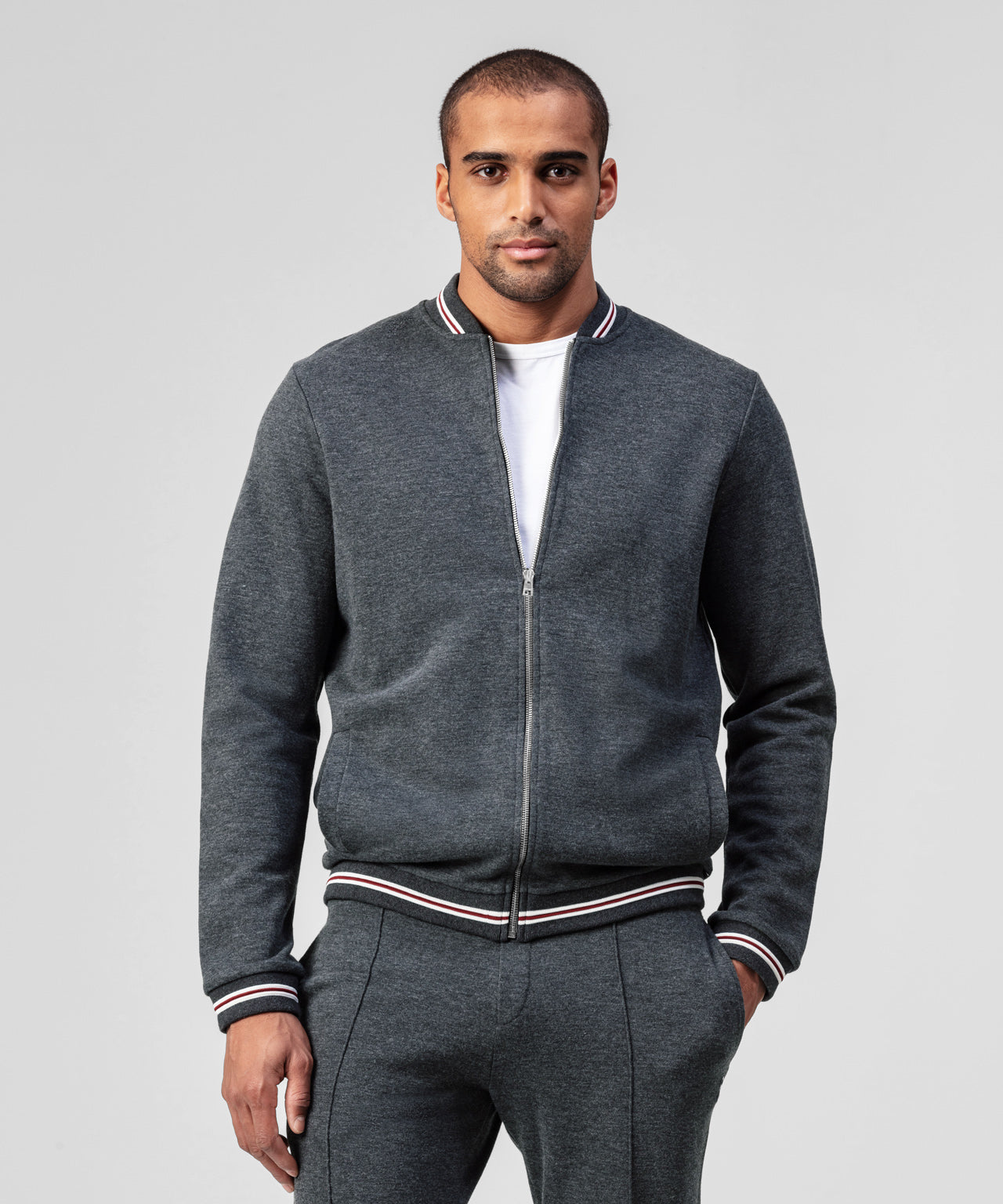 Urban Teddy Jacket - grey anthracite