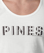 Tank Top PINES - white