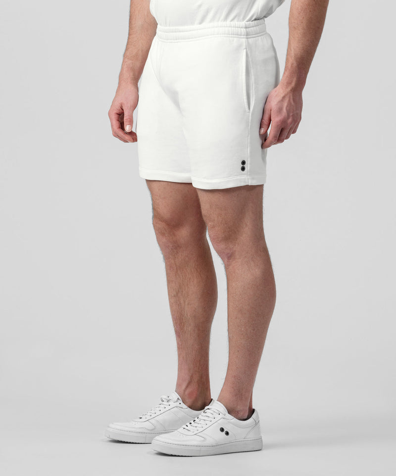 Organic Cotton Jogging Shorts - off white
