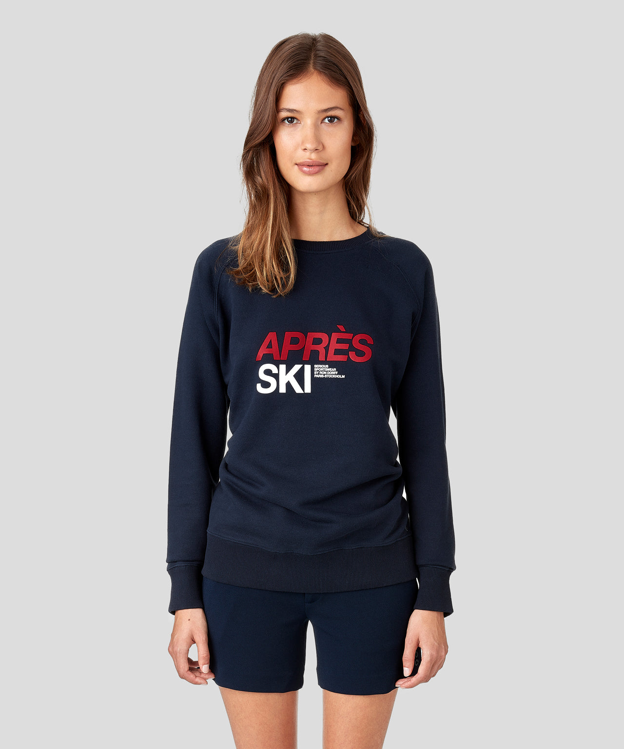 Sweatshirt APRES SKI His For Her - navy