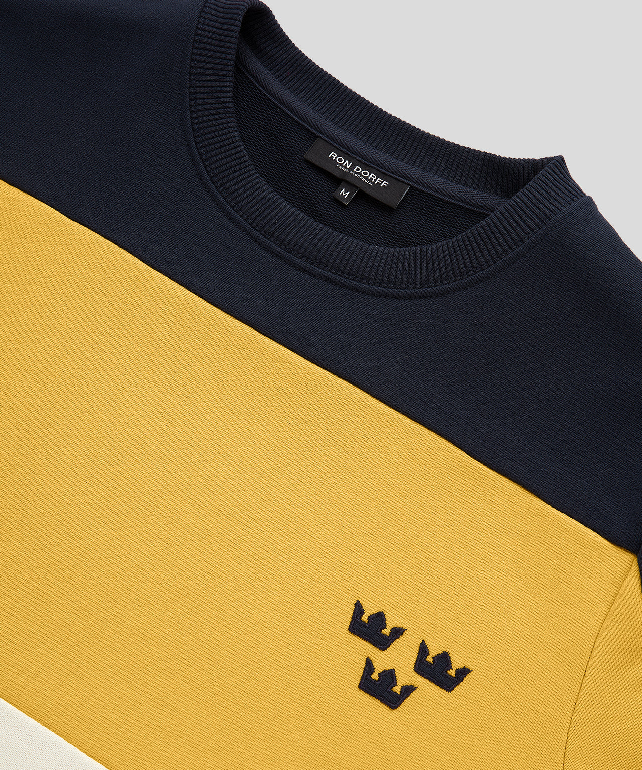 Panelled Sweatshirt 3 Kronor - urban yellow