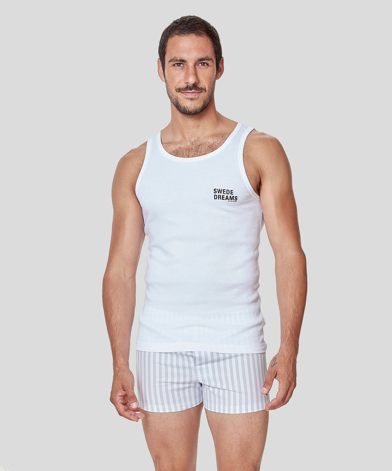 Tank Top SWEDE DREAMS - white
