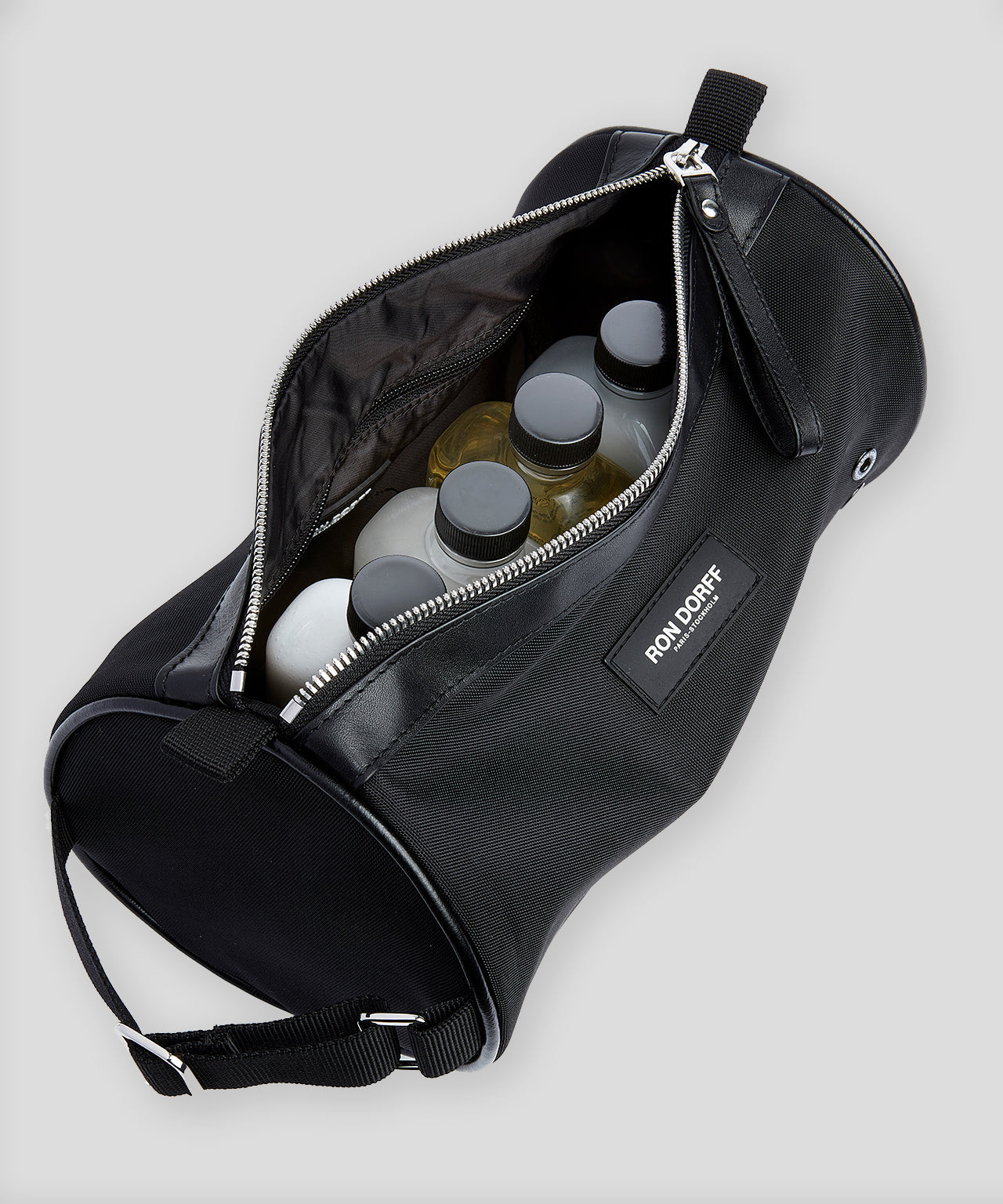 Toiletry Tube Bag - black