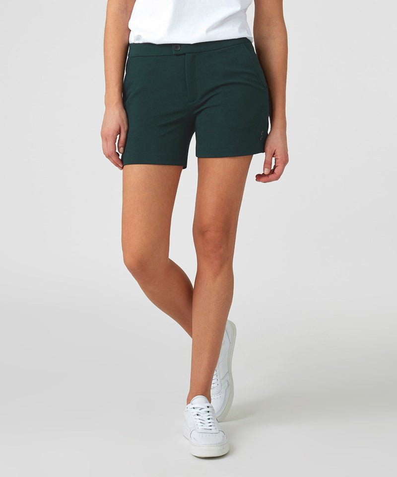 Tennis Shorts His For Her - green night