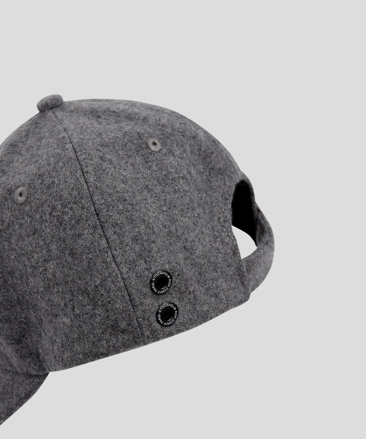 Wool Cap DISCIPLINE His for Her - grey melange