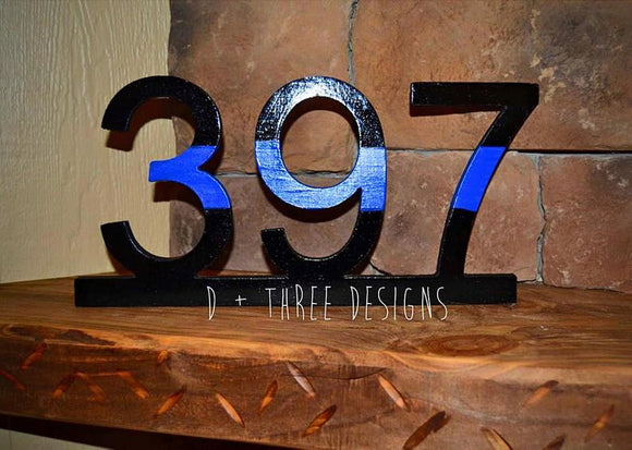 police badge, police number, police retirement, wooden badge, police academy graduation gift, police gift