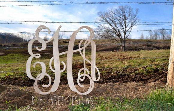 unfinished monogram, wall monogram, door monogram, nursery monogram