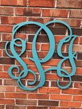 24 Inch Wooden Monogram Painted, Wooden Letters, Monogram, Home Decor, Nursery Letters, & More