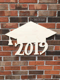 Graduation Class of 2019, Graduation Party Decor, Graduation Door Hanger, Graduation Cap Guest Book