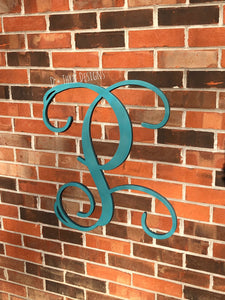 Single Painted Wooden Letter